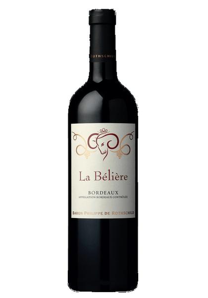 Chez le caviste - Baron Philippe de Rothschild La Beliérè Bordeaux Rouge 2019